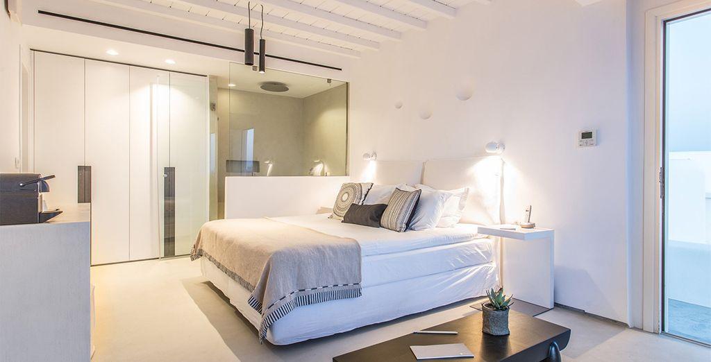 Oder entscheiden Sie sich für ein Doppelzimmer mit Meerblick