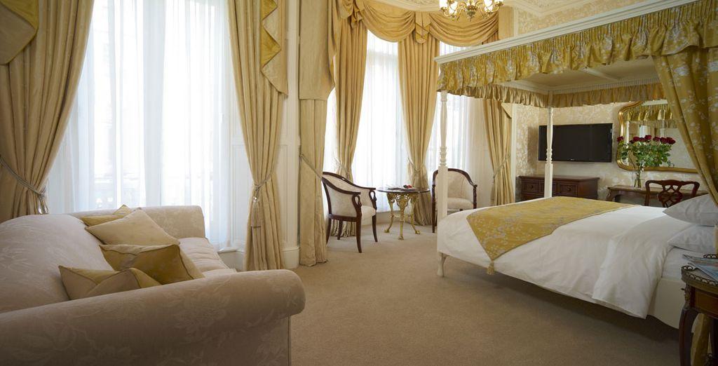 Oder wie wäre es mit dem aristokratischen Charme der optionalen Junior Suite?
