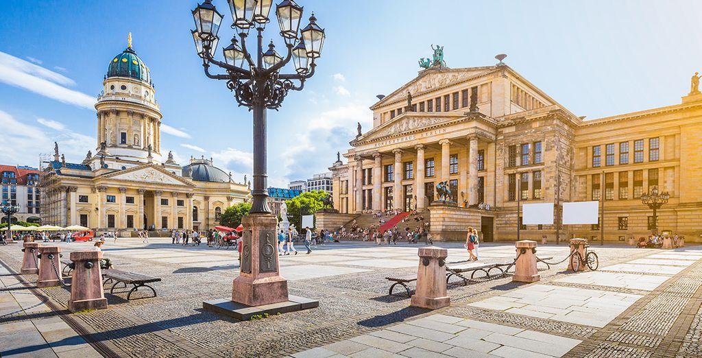 Entdecken Sie die Stadt Berlin