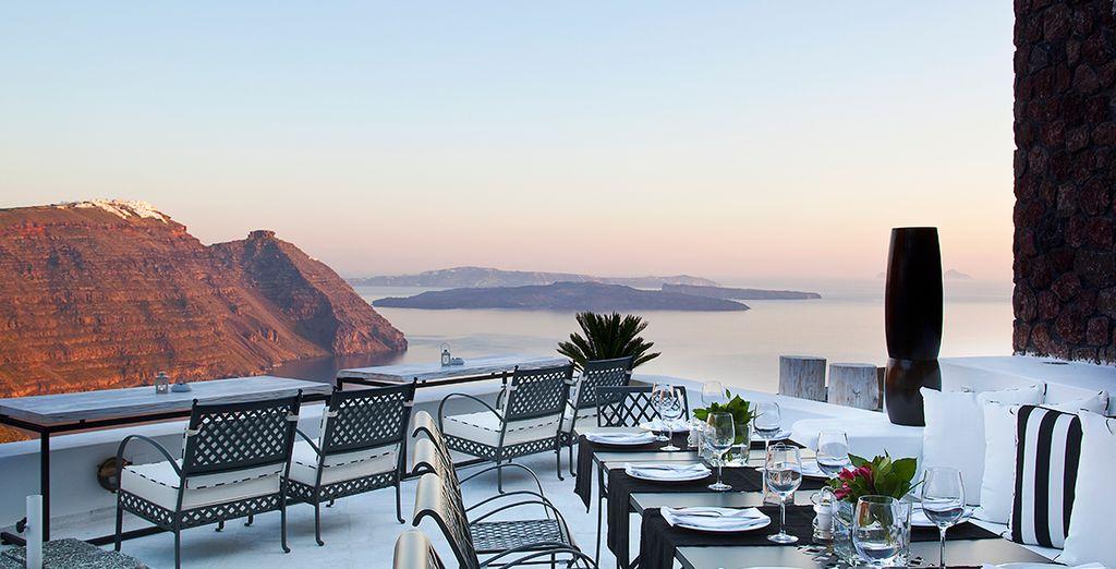 Geniessen Sie Ihr Frühstück auf der Terrasse