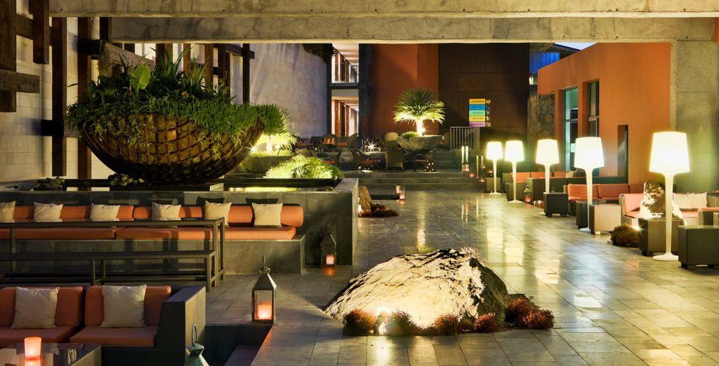 ... im Herzen eines prächtigen Hotels