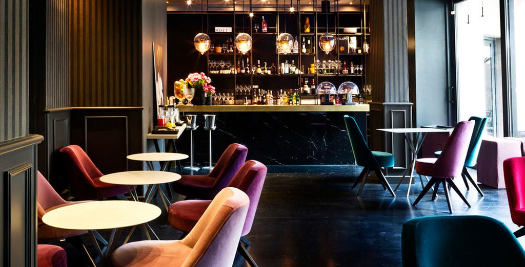 Raffinierte Räume und elegante Möbel mit viel Liebe zum Detail