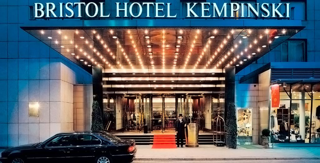 Willkommen im Kempinski Hotel Berlin