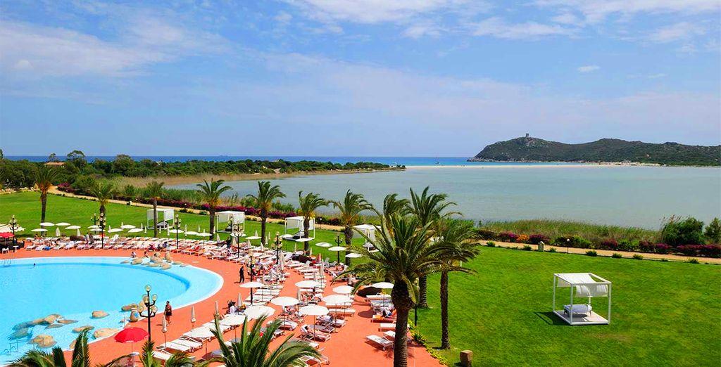 Ein wunderschönes Resort, ideal für Familien und Paare erwarte Sie...
