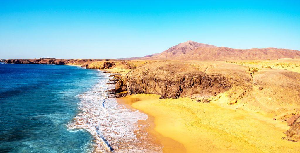 Entdecken Sie die traumhaften Strände von Lanzarote