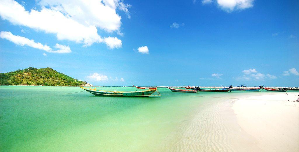 Auf der Insel Koh Phangan in Thailand