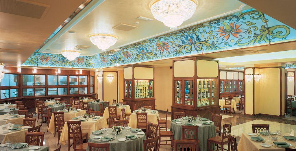 Sie erhalten 10% Ermäßigung auf das Restaurant im Hotel