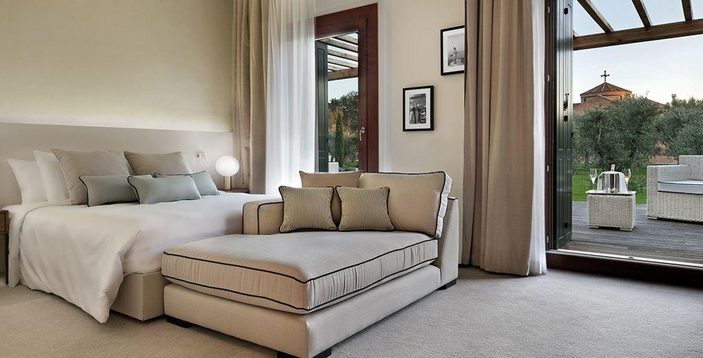 Entdecken Sie den Komfort Ihres Deluxe Zimmer