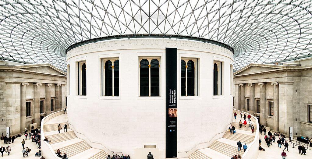 Einschließlich des nahe gelegenen weltberühmten British Museum