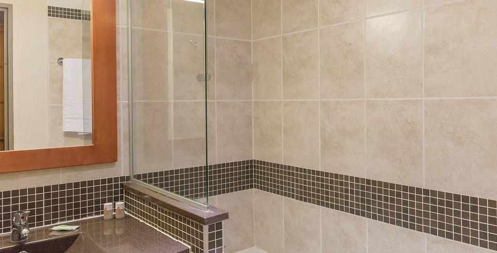 Ihr Badezimmer ist komplett ausgestattet