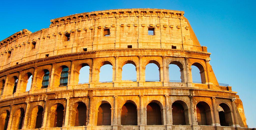 Entdecken Sie Rom