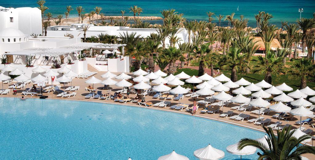 Auf dem Programm Ihres Urlaubs steht ein 4 * Hotel...