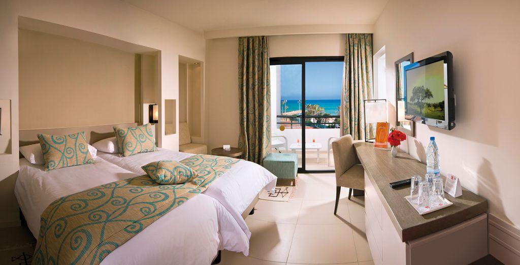 Ein komfortables Zimmer für die wohlverdiente Ruhe