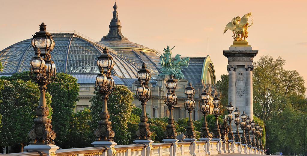 Machen Sie sich auf den Weg in die Stadt der Liebe und fühlen Sie den Rhytmus von Paris