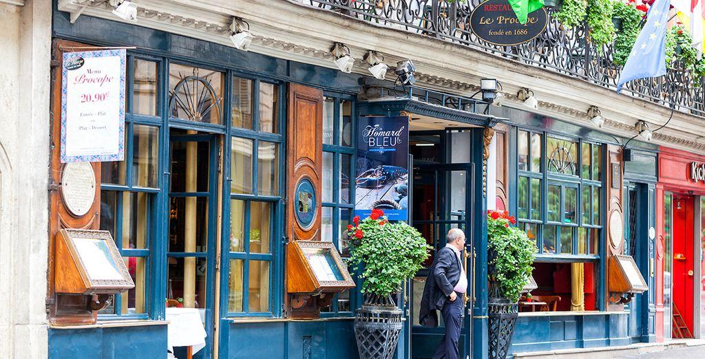 Das Le Procope- das älteste Café in Paris....