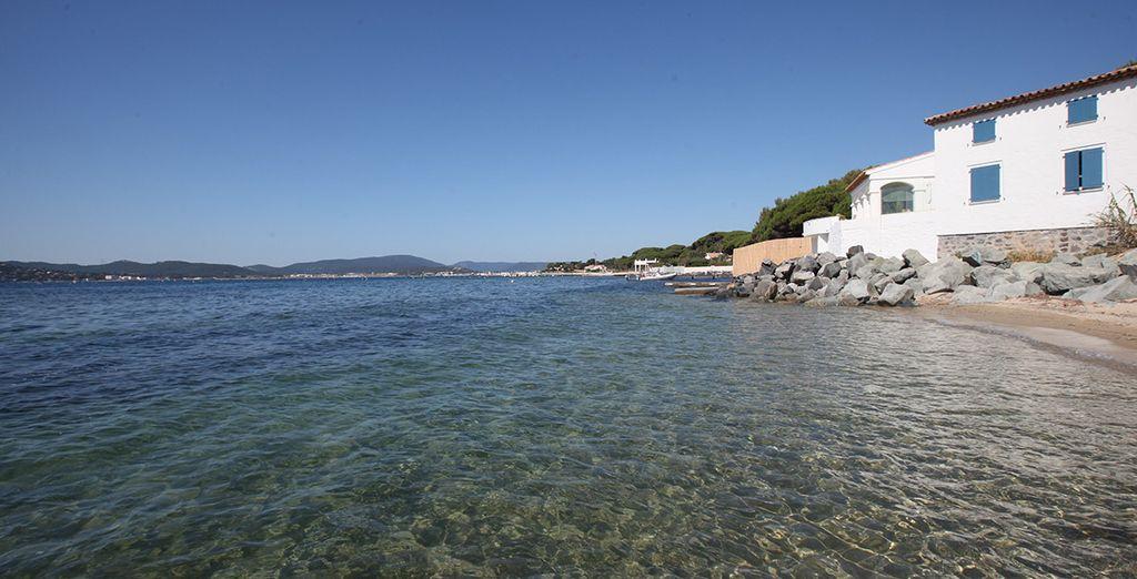 Genießen Sie die Strände des Mittelmeeres