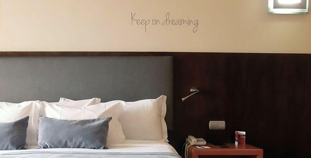 Genießen Sie Ihr komfortables Zimmer