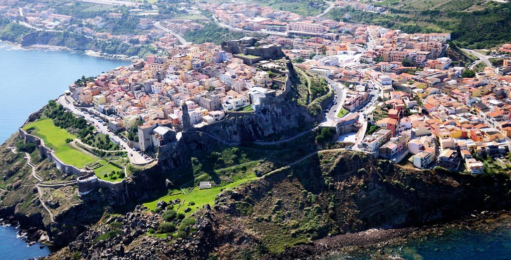 Castelsardo ist berühmt für seine wunderschöne, markante Landschaft