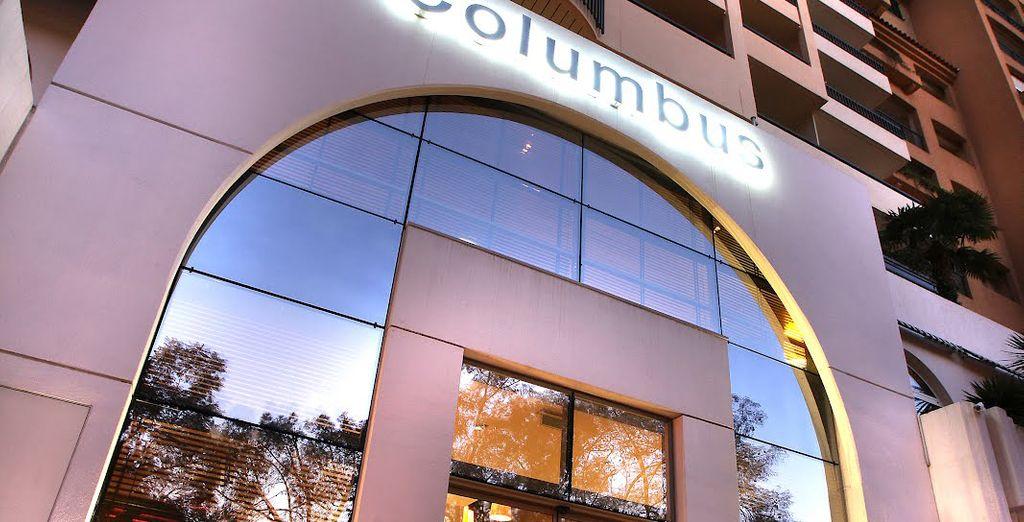 Das zentral gelegene Columbus Monte Carlo Hotel ist das perfekte Ziel Ihrer stilvollen Städtereise