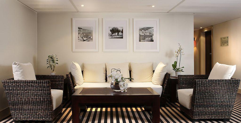 Entfliehen Sie dem Trubel und genießen Sie das komfortable, elegante Ambiente