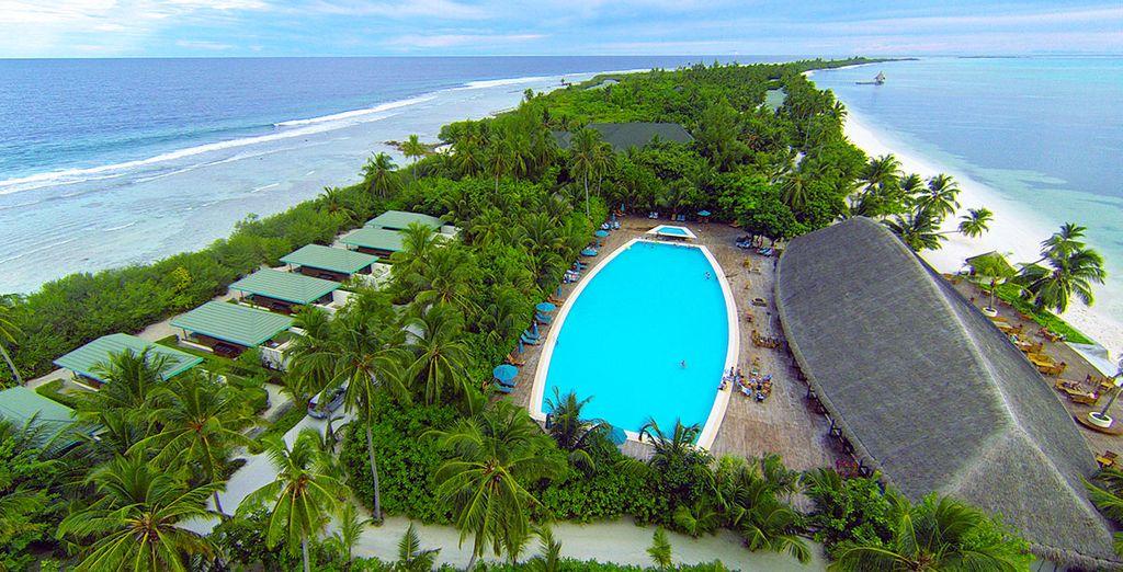 Das Canareef Maldives Resort 4* begrüßt Sie herzlich!
