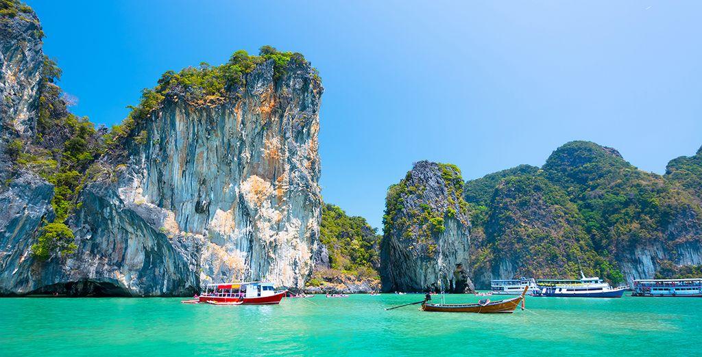 Zwischen Phuket...