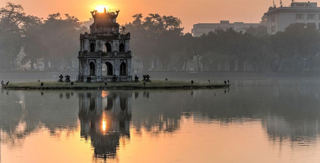 Der legendenumwobene Hoan Kiem See
