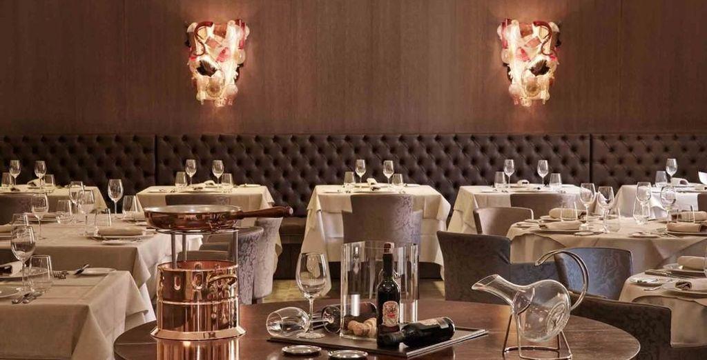 Im hoteleigenen Restaurant können Sie venezianische Spezialitäten probieren