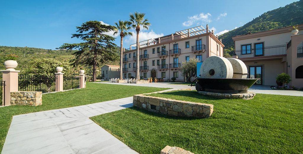 Das Hotel Terre di Eolo heißt Sie herzlich willkommen!