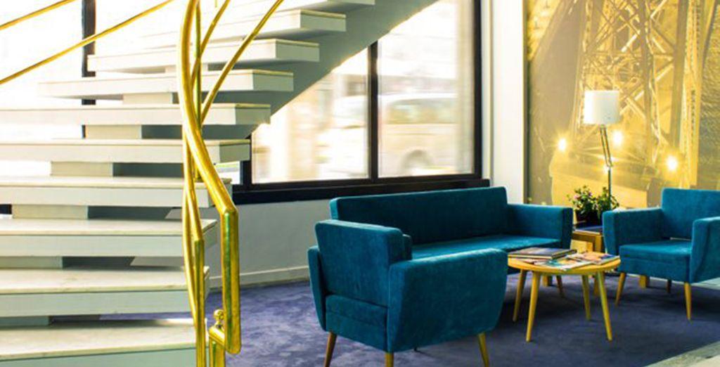Ein modernes Hotel in dem Sie sich schnell wohl fühlen werden, erwartet Sie