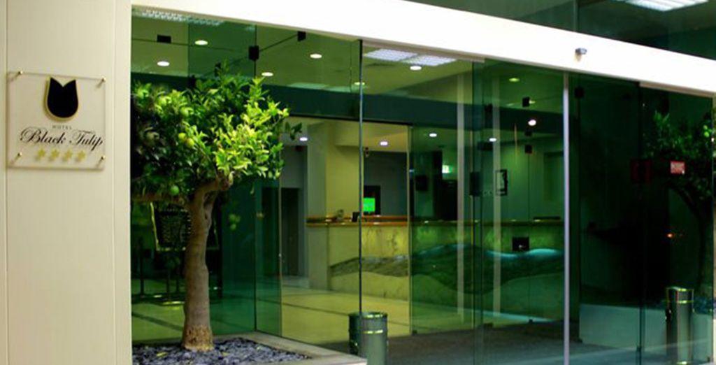 Sie wohnen im Hotel Black Tulip - Porto Gaia