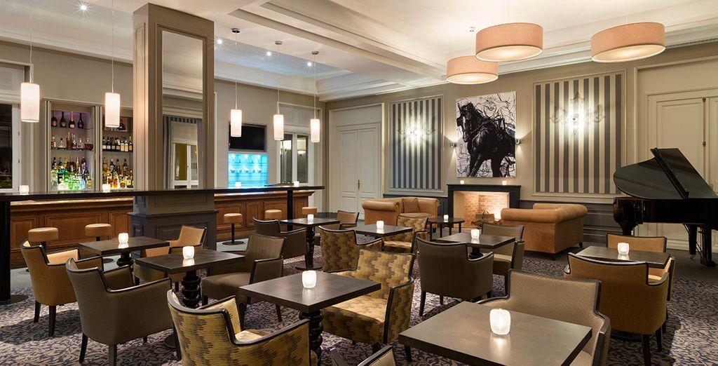 Im charmanten Hotelrestaurant