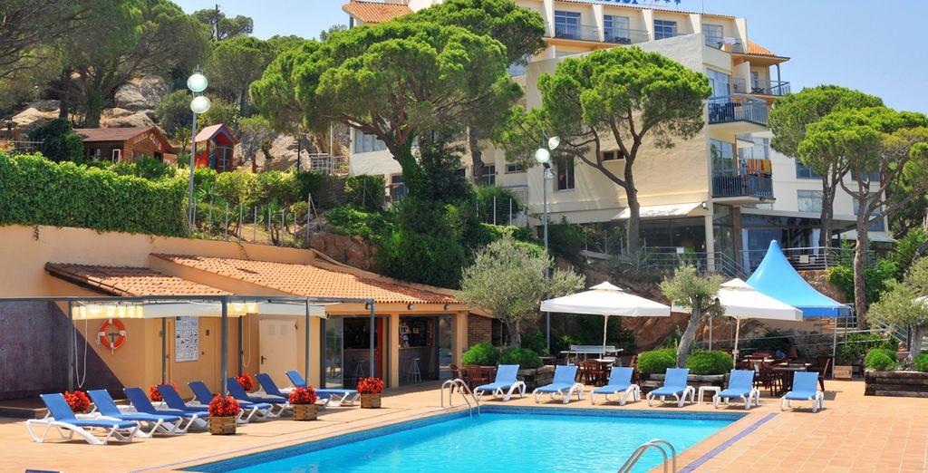 ... empfängt Sie das Hotel S'Agaro Mar 4*