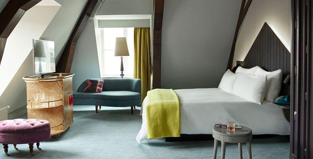 Ein wunderschönes Zimmer erwartet Sie ...