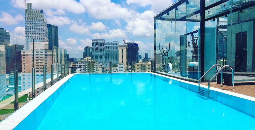 In Ho Chi Minh City wohnen Sie im Bay Hotel...