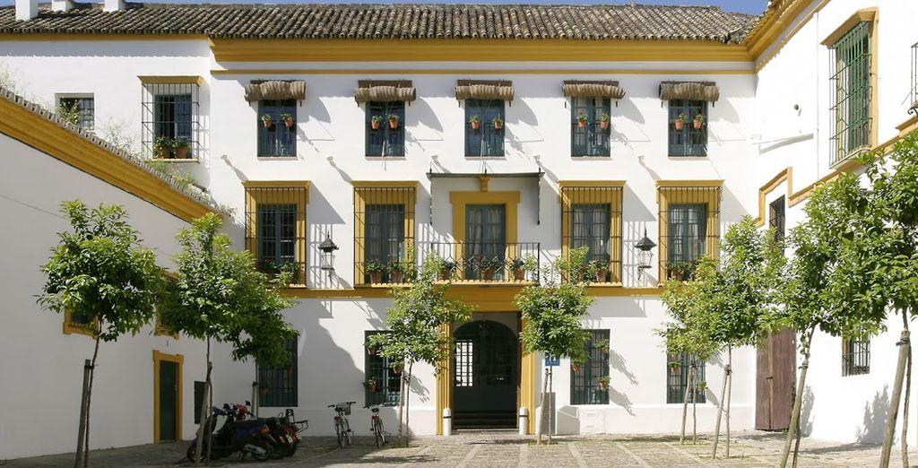 Willkommen im typischen Hotel Hospes Las casas del Rey de Baeza!