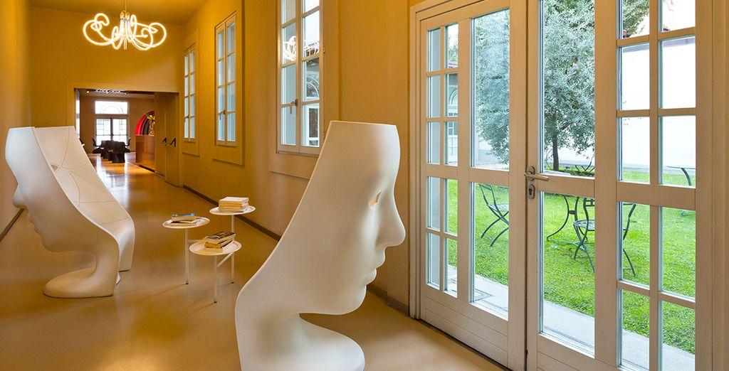 Ein Hotel im außergewöhnlichen Design ...