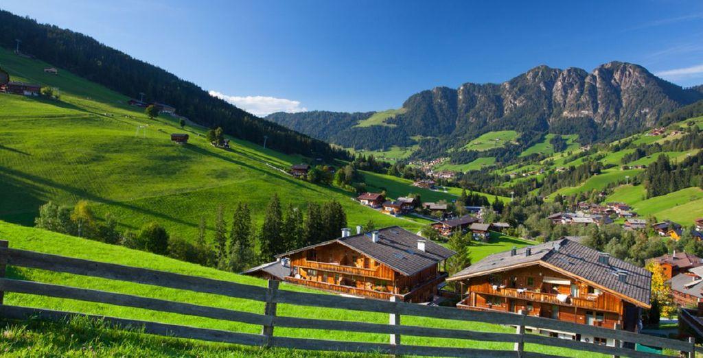 ... In den schönen österreichischen Alpen