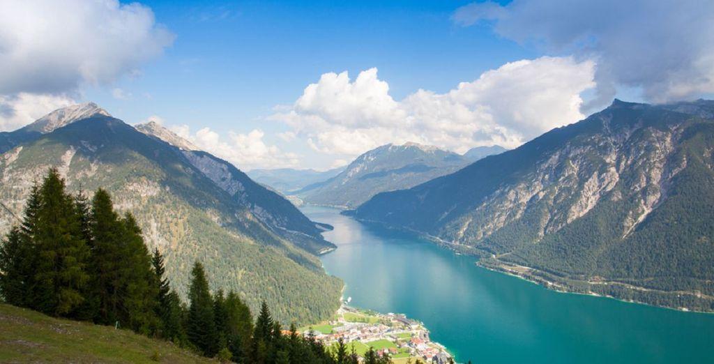 Genießen Sie frische Alpenluft und atemberaubende Aussichten