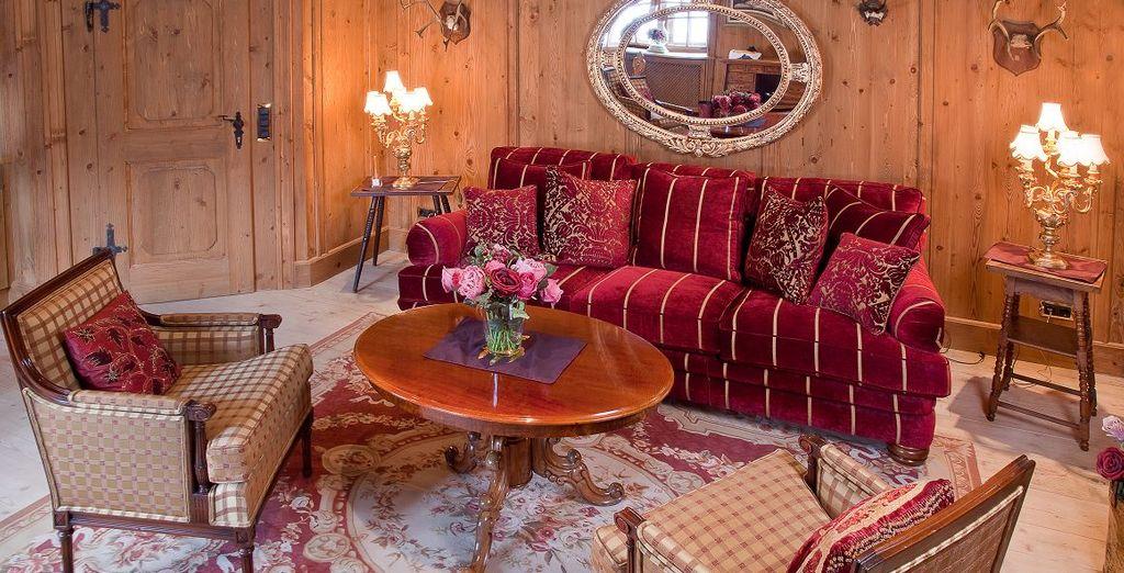 Oder entscheiden Sie sich für eine Grand Romantik de Luxe Suite