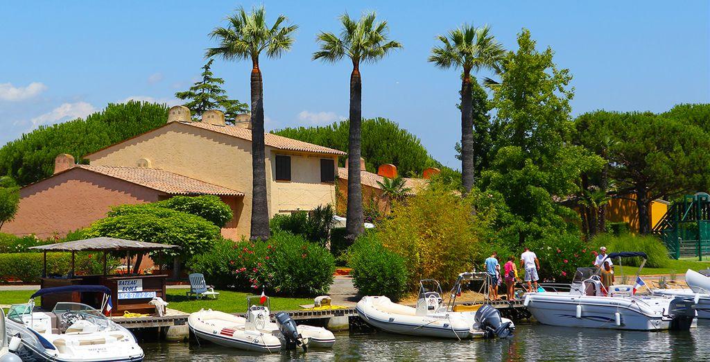 In der wunderschönen Lage von Cannes-Mandelieu...
