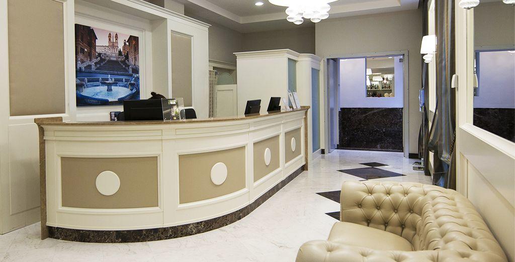 Das Hotel Dei Borgia erwartet Sie ...