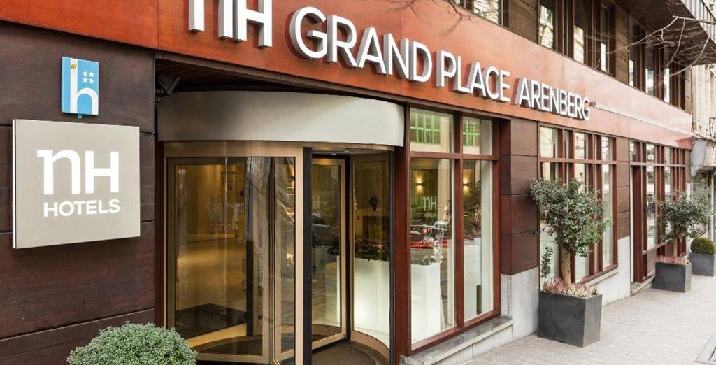 Willkommen im Hotel NH Brussels Grand Place Arenberg