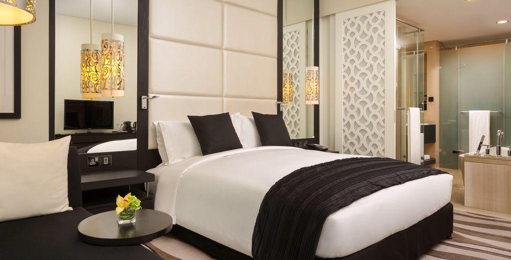 Sie übernachten im gemütlichen Luxury Zimmer
