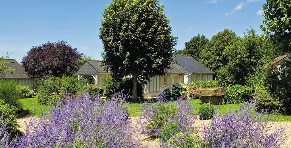 Willkommen im Pierre & Vacances Le Normandy Garden!