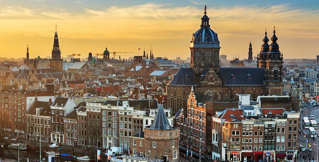 Wir wünschen Ihnen einen wunderschönen Aufenthalt in Amsterdam!