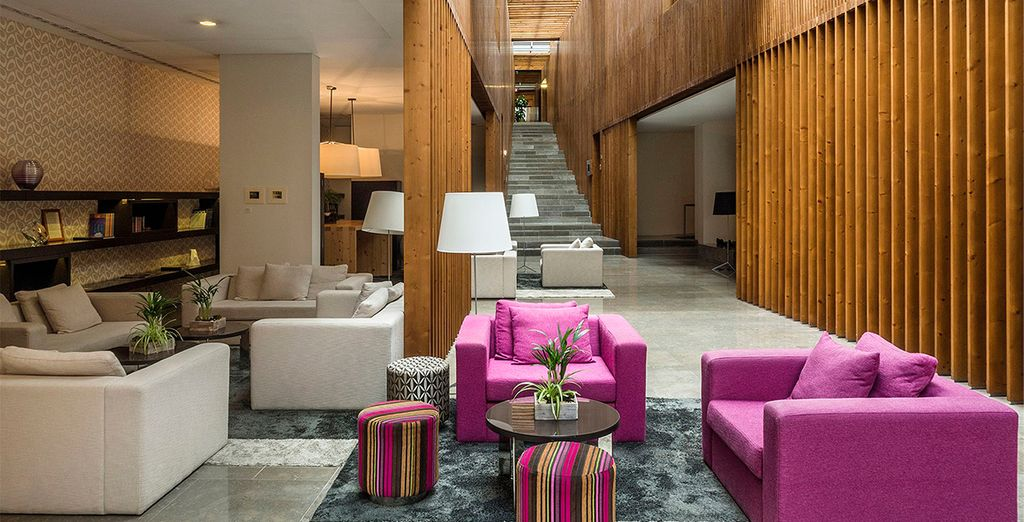 Im Inspira Santa Marta Hotel 4* erwarten Sie wunderschöne, helle Innenräume