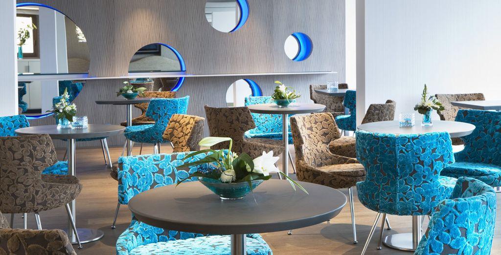 In diesem zeitgenösischen Design-Hotel