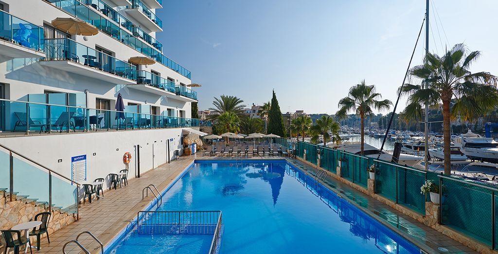 Willkommen im Aparthotel Porto Drach auf Mallorca!