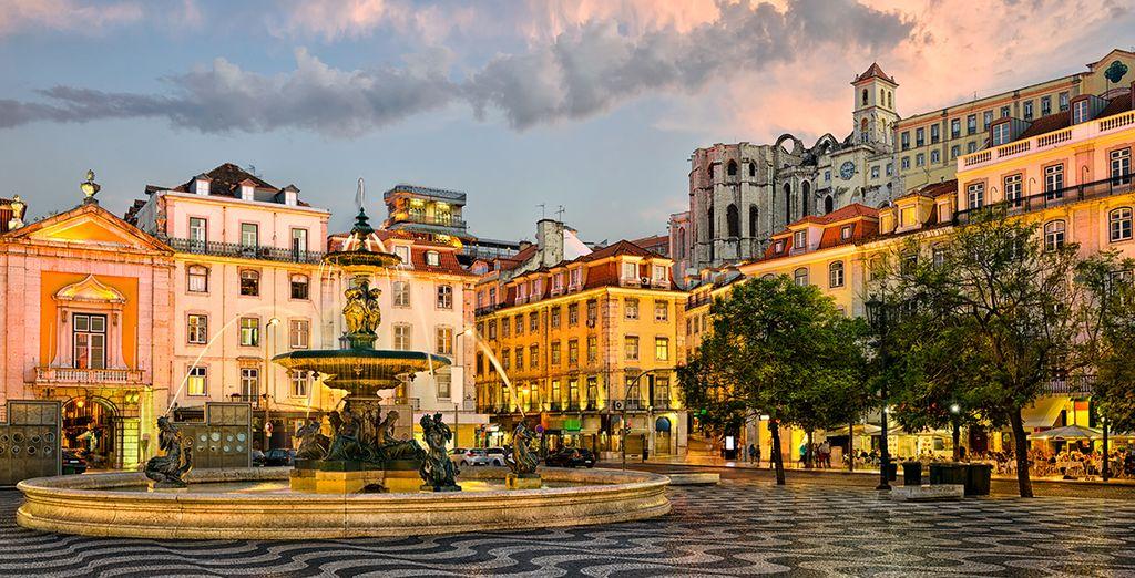 Entdecken Sie die Stadt und ihre wunderschöne Architektur